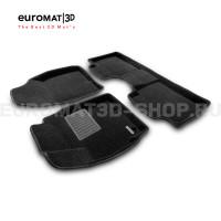 Текстильные 3D коврики Euromat3D Business в салон для Toyota Corolla (2013-2018) № EMC3D-005128