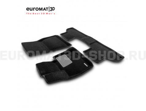 Текстильные 3D коврики Euromat3D Premium в салон для Bmw X6 (F16) (2015-) № EMPR3D-001215